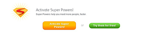 Badoo Super Power Feature