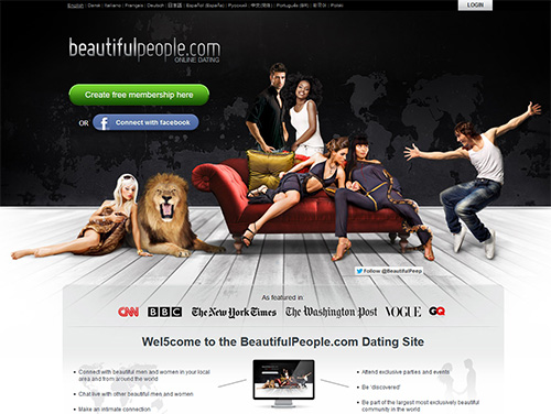 beautifulpeople Home Page