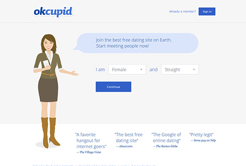 OKCupid com Review | Consumer-Rankings com