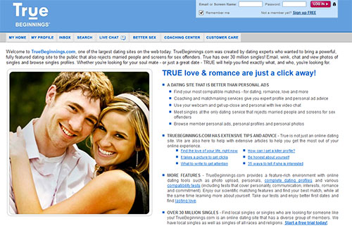 truebeginnings Home Page