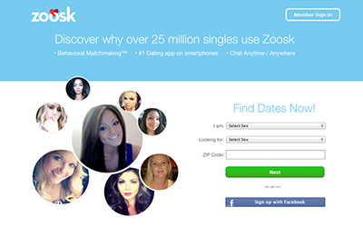 Zoosk Review | Consumer-Rankings com